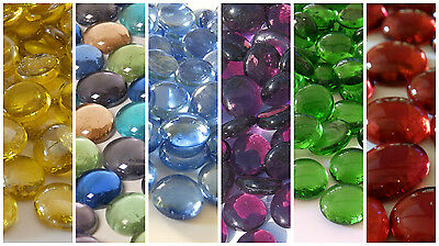 Glass Pebbles / Nuggets / Stones in a Variety of Colours and Quantities