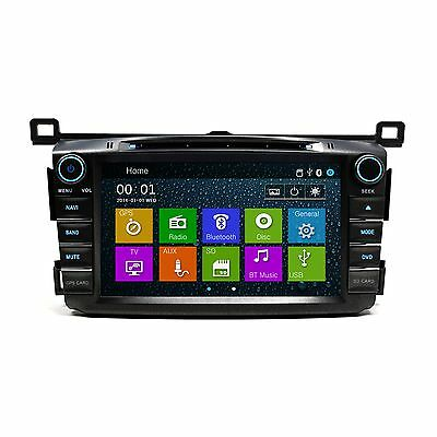"7"" DVD Player Navigation Touchscreen Bluetooth Radio for 2013-2018 Toyota Rav4"
