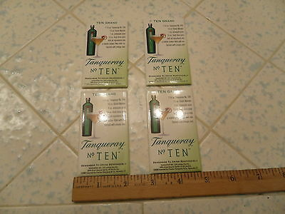Lot Of 4 Tanqueray 10 Magnates Gin Magnates