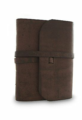 Everest Explorer Journal with Handmade Lokta Paper and Water Buffalo Leather