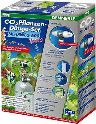 Dennerle CO2 Duengeset Réutilisables 600 Space