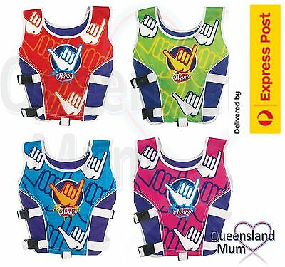 Wahu Swim Vest Size Medium 15-25kg Age 4-5 yrs Swimming Aid Vest