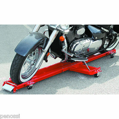 500lb /227kg Motorbike Motor Bike Cycle Motorcycle Mover Wheel Skate Dolly Stand