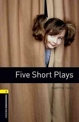 Oxford Bookworms Library: Level 1:: Five Short Plays audio CD pack: Reader by Ma
