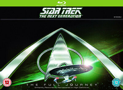 Star Trek: The Next Generation - Complete Seasons 1-7 NEW Blu-Ray 41-Disc Set