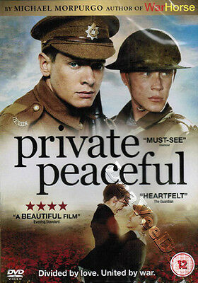 Private Peaceful NEW PAL Cult Kids DVD Pat O'Connor George MacKay Jack O'Connell