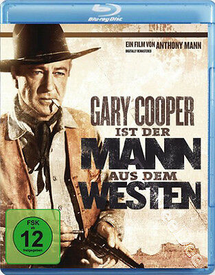 Man of the West NEW Classic Blu-Ray Disc Anthony Mann Gary Cooper Julie London