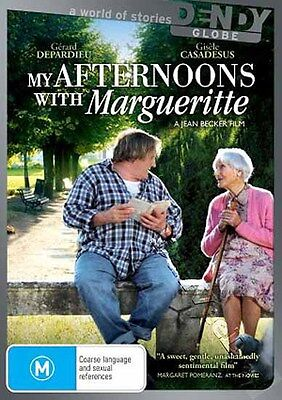 My Afternoons with Margueritte NEW PAL Arthouse DVD Becker Depardieu Casadesus