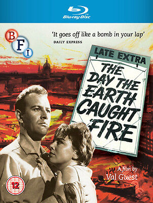 The Day the Earth Caught Fire NEW Arthouse Blu-Ray Disc Val Guest Leo McKern