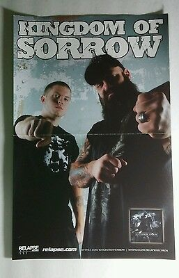 KINGDOM OF SORROW PHOTO CREASED BAND GROUP ART 11x17 MUSIC PROMO POSTER