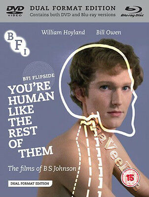 You're Human Like the Rest of Them NEW Arthouse Blu-Ray Disc Johnson Hoyland