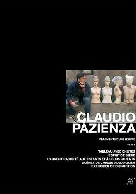 Claudio Pazienza Collection - Fragments of Works NEW PAL Documentaries 3-DVD Set