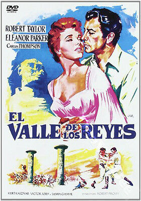 Valley of the Kings NEW PAL Classic DVD R. Pirosh Robert Taylor Eleanor Parker