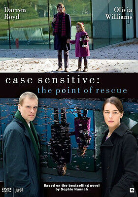 Case Sensitive: The Point Of Rescue NEW PAL Series DVD C. Martin Olivia Williams