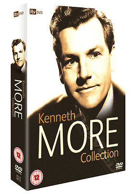 Kenneth More Collection NEW PAL Classic Cult 5-DVD Set