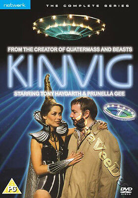 Kinvig - Complete Series NEW PAL Cult DVD B. Simmons Tony Haygarth Prunella Gee