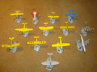 Tintin - Selection of Aeroplanes and Figures - individual purchase.