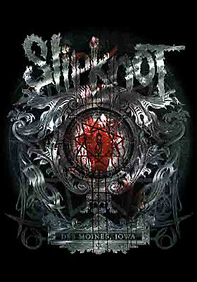 "SLIPKNOT Des Moines Iowa Tapestry Cloth Poster Flag Wall Banner New 30"" x 40"""