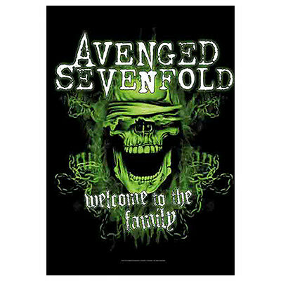 "AVENGED SEVENFOLD Family A7X Tapestry Cloth Poster Flag Wall Banner 30"" x 40"""