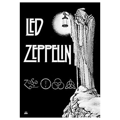 """LED ZEPPELIN Stairway To Heaven Tapestry Cloth Poster Flag Wall Banner 30"""" x 40"""""""