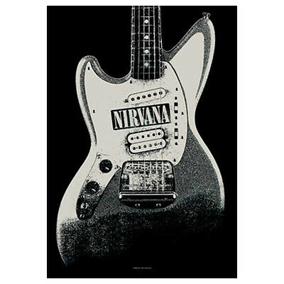 """NIRVANA Guitar Tapestry Cloth Poster Flag Wall Banner New 30"""" x 40"""""""