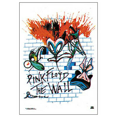 "PINK FLOYD The Wall WHITE Tapestry Cloth Poster Flag Wall Banner New 30"" x 40"""