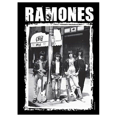 "RAMONES CBGB Photo Tapestry Cloth Poster Flag Wall Banner New 30"" x 40"""
