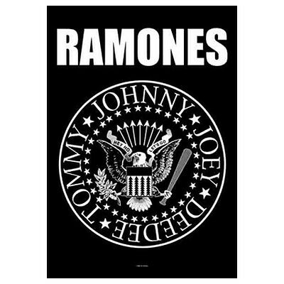 "RAMONES Presidential Seal Tapestry Cloth Poster Flag Wall Banner New 30"" x 40"""