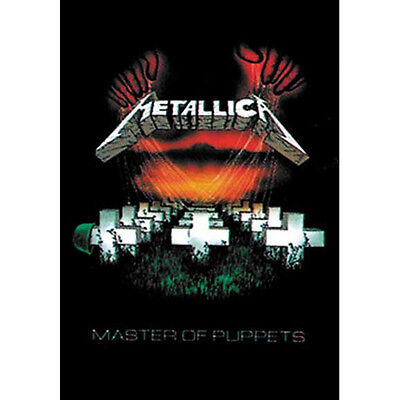 """METALLICA Master Of Puppets Tapestry Cloth Poster Flag Wall Banner New 30"""" x 40"""""""