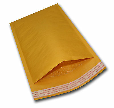 """250 #0 6X10 Kraft Bubble Mailers Mailing Padded Envelopes Bags KNJ 6""""x10"""""""