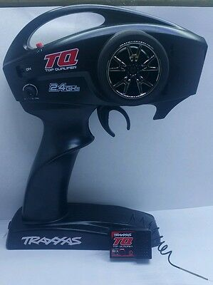 NEW TRAXXAS 2 channel transmitter TQ 2.4Ghz  - 3 channel Receiver Slash TRA6516