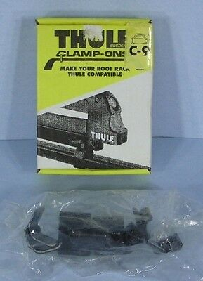 "* Thule Clamp-Ons C-9 for Existing Roof Rack Bars 1/2"" x 2"" C9 NEW *"