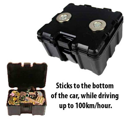 Magnetic Car Truck Safe Hidden Storage Stash Box Compartment Personal Valuables