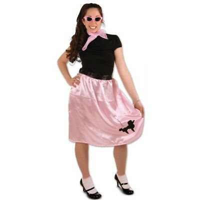 Pink Wrap-Around Poodle Skirt