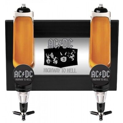 AC/DC Wall Mounted Double Spirit Dispenser - Highway to Hell