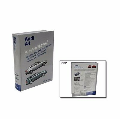 NEW OE Bentley Diagram Book Repair Guide Service Manual for Audi a4 /a4 Quattro
