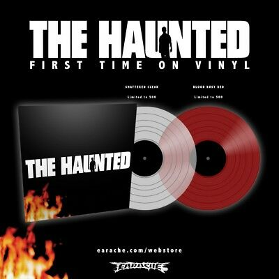 """The Haunted """"The Haunted"""" Clear Vinyl - NEW Ltd to 500 Copies!"""