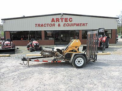 2010 Boxer 118 Trencher - Track Drive - Combo Chain - Trailer Included!!