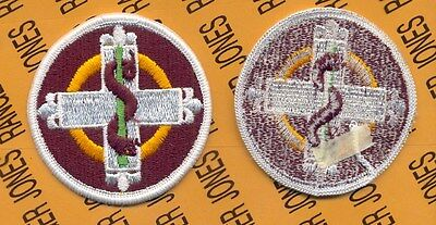 US Army 338th Medical Brigade dress uniform patch m/e