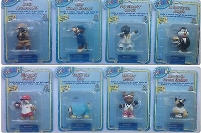 Factory Sealed! Rare Set of 8  WEBKINZ FIGURINE Series 2  with CODES