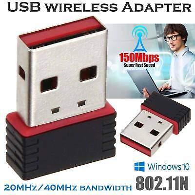 150Mbps USB WiFi Dongle Mini Wireless Network Adapter 802.11 B/G/N for Laptop PC