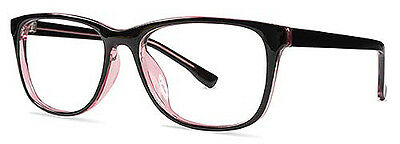 Ladies Designer Glasses Frames - Suitable For Prescription Lenses - Black/Purple