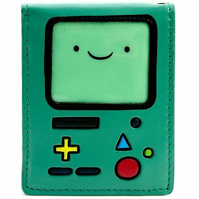 New Official Awesome Adventure Time Bmo Bi-Fold Wallet