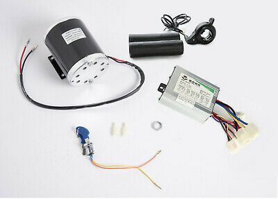 800W 36V electric motor kit w base, control box, key lock & Thumb Throttle