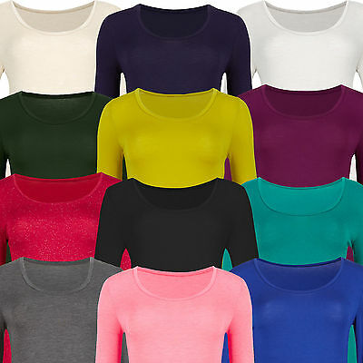 Marks & Spencer Womens Long Sleeve Heatgen™ Thermal Top New M&S Warm Scoop Neck