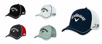 New For 2016 - Callaway Golf Tour Authentic Mesh Fitted Cap/Hat