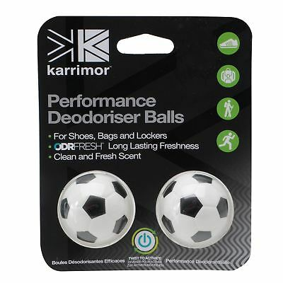 Karrimor Deodoriser Balls for Shoes Bags and Lockers Fresh Scent New