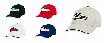 New For 2016 - Callaway Golf Throwback Cap/Hat - OSFA