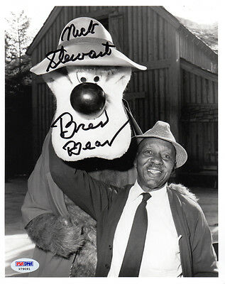 NICK STEWART SIGNED 8x10 PHOTO VOICE OF BRER BEAR SONG OF THE SOUTH PSA/DNA