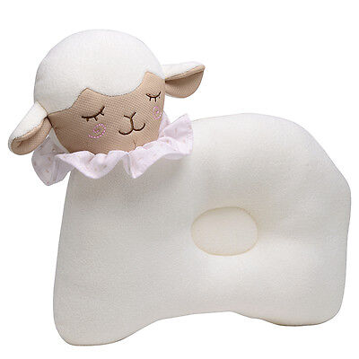 Newborn Infant Baby Sheep Style Pillow Support Cushion Pad Prevent Flat Head New